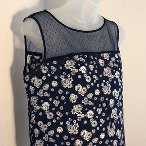 Jason Wu For Target Floral Sleeveless Shirt